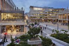 Lower Sproul redevelopment by Moore Ruble Yudell Architects & Planners in Berkeley, United States