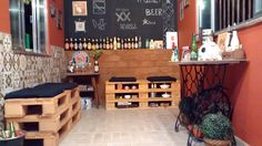 Galeria do Leitor DIY - Cantinho da cerveja. Espaço criativo para receber os amigos.