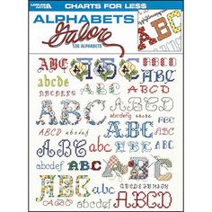Alphabets Galore - Sewing