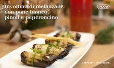 Aperitivo delle Feste: #involtini #melanzane #aperitivo
