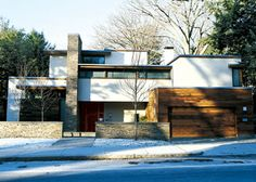 Architecture modern houses- Japanese