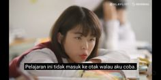 Quotes Lucu, Jokes Quotes, Story Quotes, Mood Quotes, Cute Memes, Funny Memes, Korean Drama Quotes, Korean Words, Kdrama Memes