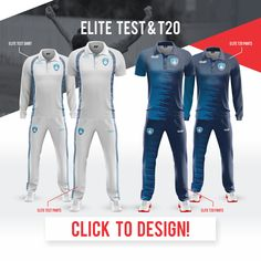 EMU Sportswear Kitbuilder allows any team to choose their items & customise them to suit their teams colours & style. The teams can also upload their teams logos as well as sponsor logos . Cricket Uniform, Custom Sportswear, Sports Jerseys, Rajputi Dress, Uniform Design, Team Wear, Netball, Club Shirts, Rugby League