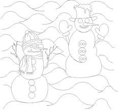 Shop | Category: Christmas / Winter | Product: Snowman E2E