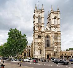 The Collegiate Church of St. Peter at Westminster (commonly known as  Westminster Abbey).  Coronation site.