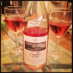 It was 50 glorious degrees in NYC today and just a day of gorgeosity! Not busting out my bikini or anything, but definitely busting out the rosé. This lean J. Albin was lovely – Willamette never disappoints.