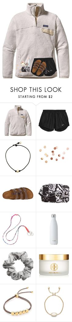"""""""vera bradley contest!"""" by preppy-southerngirl ❤ liked on Polyvore featuring Patagonia, NIKE, Umbra, Birkenstock, Vera Bradley, H&M, Tory Burch and Monica Vinader"""