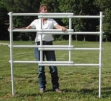 Portable Fence Horse Trail Riders See Roflexs A Mobile