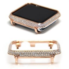 Buy Shock-proof and Shatter-resistant Watch Case Protector with Diamond Plated Protective Cover Case Bumper for Apple Watch at Wish - Shopping Made Fun watches Audemars Piguet watches Models watches Swiss Made watches Patek Philippe watches Classy Macbook Pro, Apple Watch Bands Fashion, Apple Watch Accessories, Phone Accessories, Fashion Accessories, 5 Elements, Swiss Army Watches, Beautiful Watches, Elegant Watches