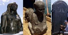 City of Heracleion sunk into the Mediterranean sea 1,200 years ago 2013 .(Research for Unit 7 assignment)