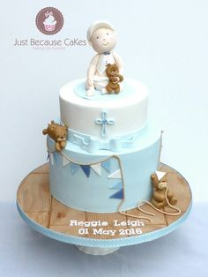 Just Because CaKes are Berkshire based wedding and celebration cake designer and offer bespoke and delicious cakes to suit every occasion. Celebration Cakes, Yummy Cakes, How To Make Cake, Christening Cakes, Amazing, Sweet, Baby Cakes, Desserts, Google Search