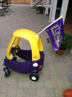 LSU Cozy Coupe