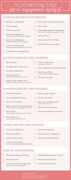 Wedding Planning Timeline | Wedding Planning Checklist | http://www ...