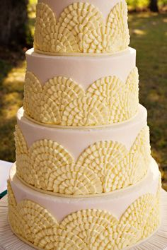 Oh my goodness!  So pretty and easy for those orders for big cakes and no direction of what they want.