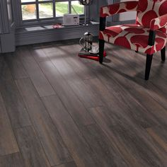 This laminate flooring has an attractive Ascot oak effect finish, antique surface finish and bevelled edge. Each plank uses a simple click system, so installation is simple and it's suitable for warm water underfloor heating systems under 28 degrees. Laminate Flooring Diy, Kitchen Flooring, Hardwood Floors, Water Underfloor Heating, Ikea Units, Basket Shelves, Next At Home, Plank, Family Room