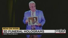 WEST PALM BEACH -- Funeral home offers hologram eulogies -- so now the deceased can attend his or her own funeral. (June 2015)