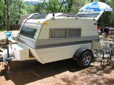Jess Neal uploaded this image to 'Original Grasshopper Pics'. See the album on Photobucket. Small Camper Trailers, Diy Camper Trailer, Build A Camper, Tiny Camper, Small Trailer, Small Campers, Vintage Travel Trailers, Rv Trailers, Micro Campers