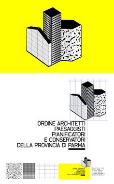 logo / competition proposal / ordine architetti parma / identity by spectacularch! & IlogU / www.spectacularch.com & www.ilogu.it