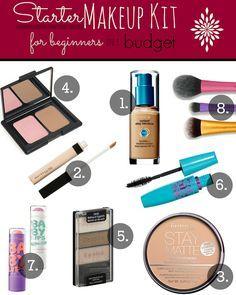 Starter makeup for beginners on a budget! | makingup-your-mind.blogspot.com