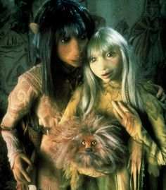 Jen & Kira. The Dark Crystal. Jim Henson, 1982.