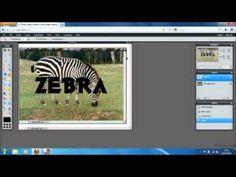 Custom Texture On text with Pixlr Digital Photography, School Photography, Desktop Publishing, Photo Editing, Fonts, Digital Art, Google Docs, School Lessons, Graphic Design