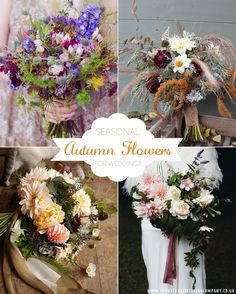 Celebrating British Flowers Week 2017 and why you should choose British wedding flowers - The Natural Wedding Company Fall Wedding Bridesmaids, Fall Wedding Bouquets, Fall Wedding Flowers, Fall Wedding Colors, Bridesmaid Flowers, Fall Flowers, Bridal Bouquets, Fall Wedding Centerpieces, Fall Wedding Cakes