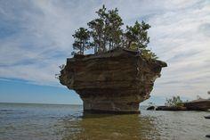 Turnip Rock   Atlas Obscura