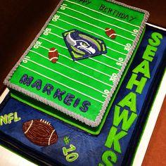 Seattle Seahawks Birthday Cake Teen Boy Superman Cakes For Men