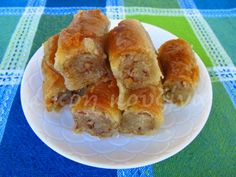 Greek Sweets, Greek Desserts, Greek Recipes, Cypriot Food, Baking Recipes, Dessert Recipes, Confectionery, Cupcake Cakes, Cupcakes