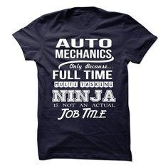 (Tshirt Discount) AUTO-MECHANICS Job title [Guys Tee, Lady Tee][Tshirt Best…