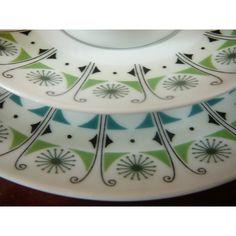 upsala-ekeby Porcelain Ceramics, China Porcelain, Scandinavian Design, Sweden, Old School, Dish, Mid Century, Clay, Retro