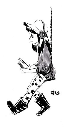 Some recent INKtober sketches! Check out all the other awesome artists…