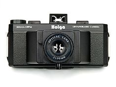 For all those budding Ansel Adams wannabee's this Holga 120 PAN Panoramic camera creates stunning 6x12 widescreen shots using standard 120 film.