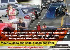 Trafik Kazalarında Tazminat Hakları #ÖlümlüTrafikKazaları #YaralanmalıTrafikKazaları #TrafikKazaTazminatları http://ozmersinsigorta.com/?/vefat-durumunda-destekten-yoksun-kalma-tazminati
