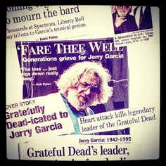 Jerry week rolls on! It's Jerry week! #misshim #people #gratefuldead #faretheewell #jerryweek #jerrygarcia come check it out all week on One Unified! www.oneunifiedproject.com