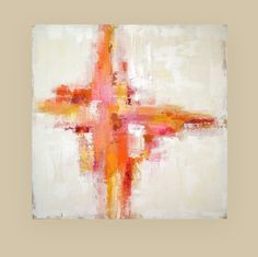 Art Abstract Painting Acrylics on Canvas Titled door OraBirenbaumArt