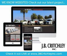 J.B. Critchley, Inc. has updated their website and made it responsive! Check it out at home or on-the-go! http://jbcritchley.com