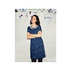 Boden Women's Vintage Collar Dress - Imperial Blue