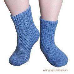 Простые и удобные носки для дома