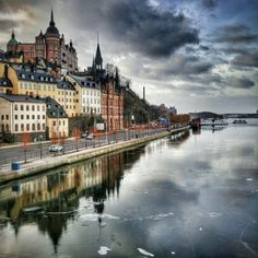 Stockholm, Sweden #winter2016 #stocholm #frosen Photo by: Oshri Yarimi