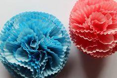 DIY: Blüten aus Papier-Muffinförmchen | ars vera(e)