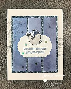 Diy Paper, Paper Crafts, Blog Online, Paper Strips, Diy Christmas Cards, Matching Gifts, Heartfelt Creations, Paper Pumpkin, Cool Cards