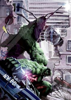 #Hulk #Fan #Art. (The Hulk) By: Stjepan Šejić.