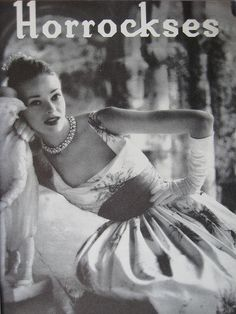 Horrockses in Vogue 1950s