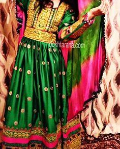 #afghan #style #dress #nice #color  #afghangirl