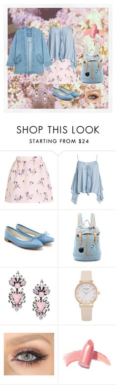 """""""Spring <3"""" by tripledog ❤ liked on Polyvore featuring RED Valentino, Sans Souci, Repetto, Paul & Joe Sister, Erickson Beamon, Elizabeth Arden and Steve J & Yoni P"""