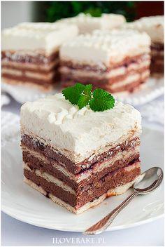 Ciasto budyniowe bez pieczenia - I Love Bake