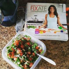 Man oh man is that salsa yummy. I'm falling in love with this cookbook by @autumncalabrese more and more!!!! These recipes are insane. I'm sooo excited to make more stuff this week!!!! #Fixate #21DayFix #21DayFixApproved #21DFX #HealthyFood #HealthyChoices #EatClean #GirlsWhoLift #Fit #TrainMean #NeverMissAMonday #PushPlay #EndTheTrend #Shakeology #GrindNowShineLater #NoExcuses #21DF #LifeOfABeachbodyCoach