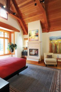 Large area rugs help to soften the hardwood floors throughout the house. Heart Pine Flooring, Pine Floors, Room Rugs, Area Rugs, Australia House, Wide Plank Flooring, Inspired Homes, Customer Stories, Home And Garden