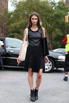 a1add954737 New York Fashion Week Spring 2013 Models Cool Street Fashion
